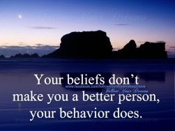 a better person