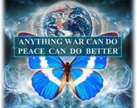 Anythingwarcan do, peace can do better