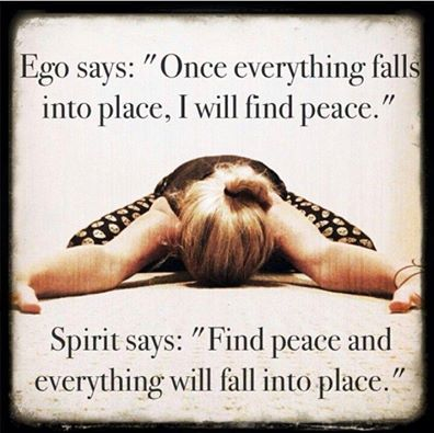 ego vs. spirit